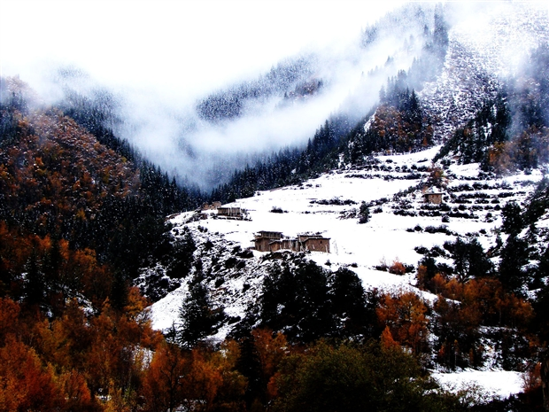 班玛旅游景点 班玛,地处青藏高原腹地,与四川阿坝,壤塘,色达三县